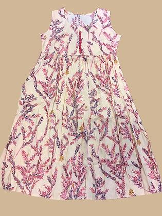 Beautiful A line Kurti in Pink