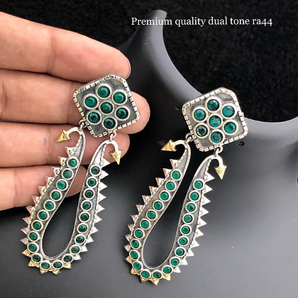 Charming German Silver Earring