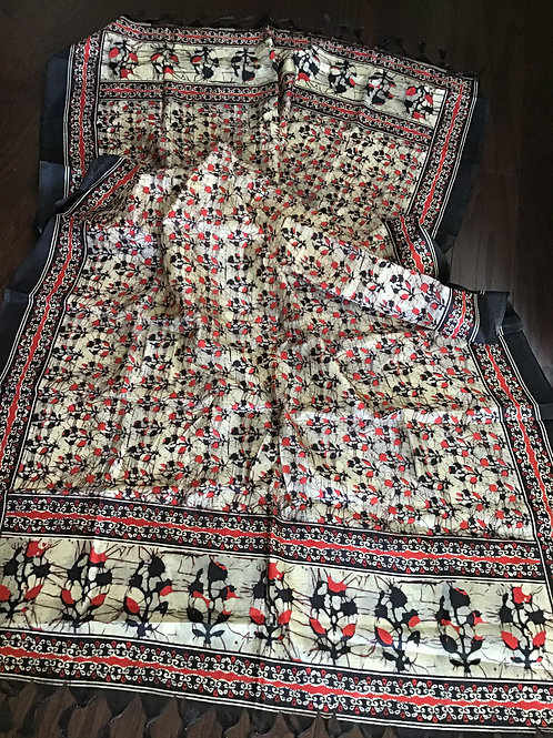 Elegant Art Silk Printed Dupatta
