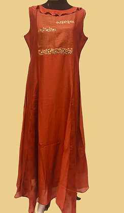 Burnt Orange Kurti