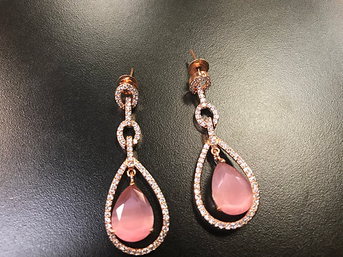 Gorgeous Pink Earring