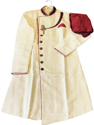 Indo Western Sherwani or Kurta Pajama Set
