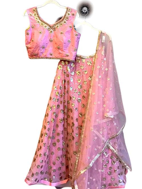 Gorgeous Pink Lehanga Choli