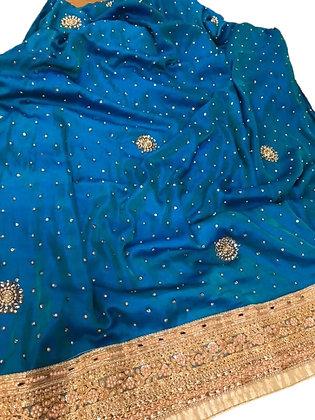 Designer Saree in Blue