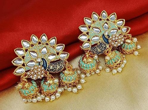 Chandbali Jhumki Earring