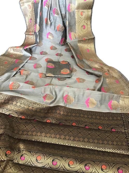 Elegant Matka Silk Saree