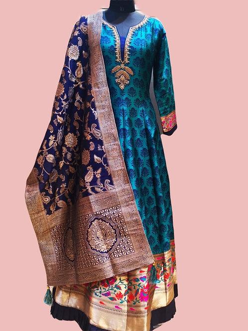 Abaya style Salwar Suit