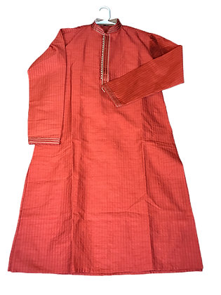 Enchanting Orange Kurta Set