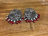 Red Stud Earring