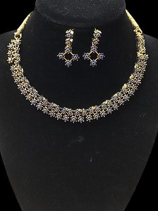 Beautiful Blue Necklace Set