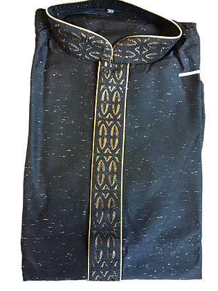 Elegant Black Men Kurta Pajama