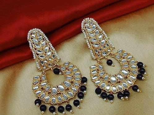 Kundan Chandbali Earring