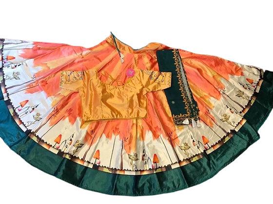 Beautiful Satin Silk Chaniya Choli