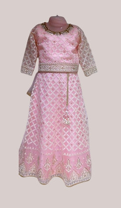 Gorgeous Girls Lehanga Choli in Pink