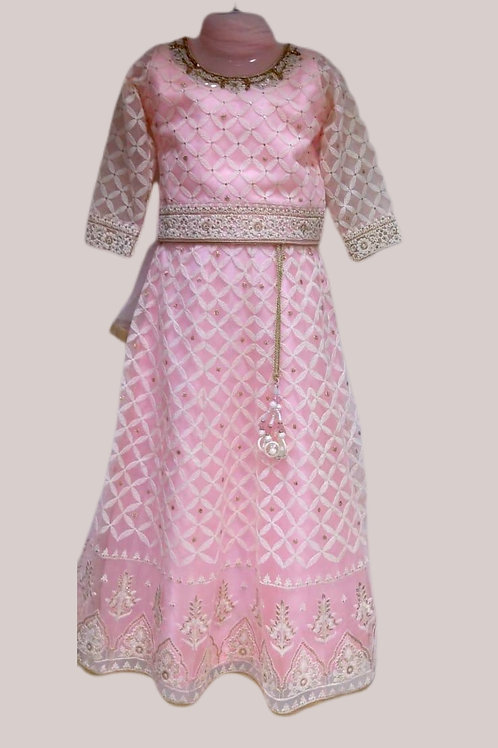 Gorgeous Girls Lehanga Choli in Pink