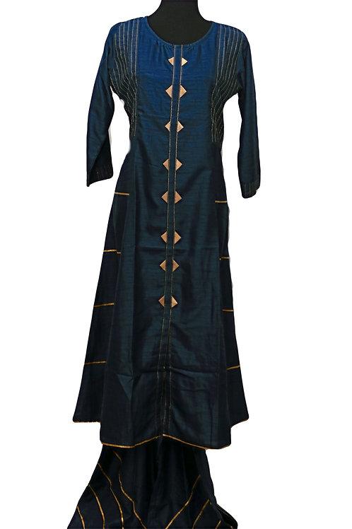 Blue Plazzo Suit
