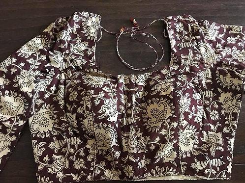 Cotton Kalamkari Blouse