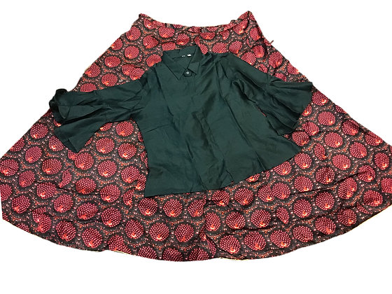 Pretty Skirt with shirt