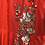 Thumbnail: Red Abaya Style Suit in 3XL