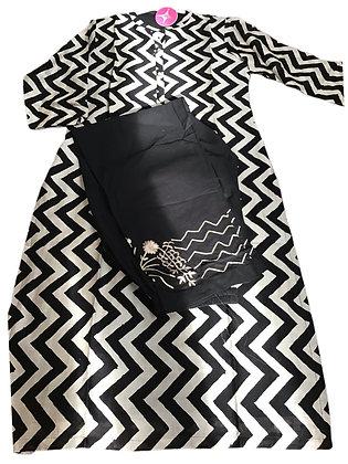 Pretty Black Plazzo Suit Set