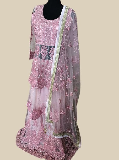 Glorious Blush Pink Lehanga Choli