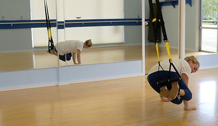 TRX band workout