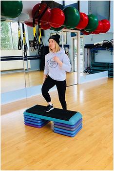 Aerobic steps workout