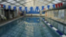 Empty athletic pool
