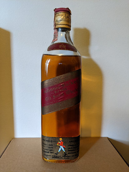Johnnie Walker Red Label 1970's Italian Market (Consignment)