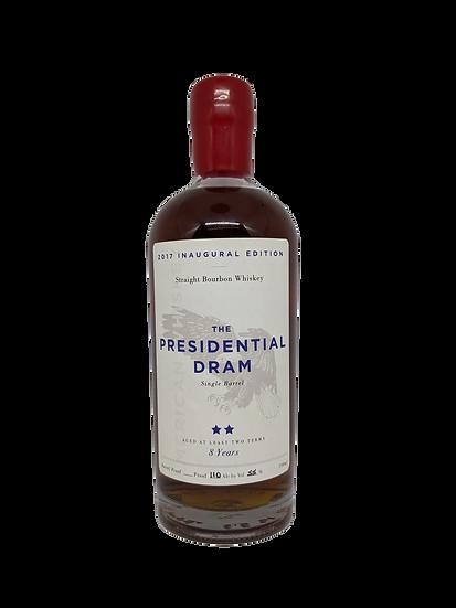 Presidential Dram '2 Term' 8YO Bourbon Whiskey 55%