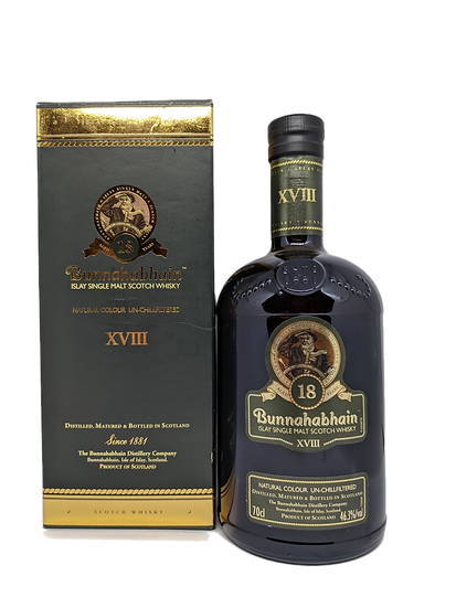 Bunnahabhain 18YO (Old Bottling) 2012