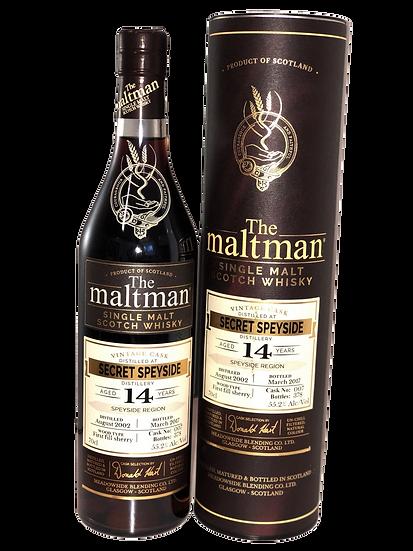 The Maltman 14YO 'Secret Speyside'