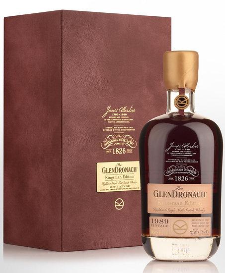 Glendronach Kingsman edition 1989 29YO