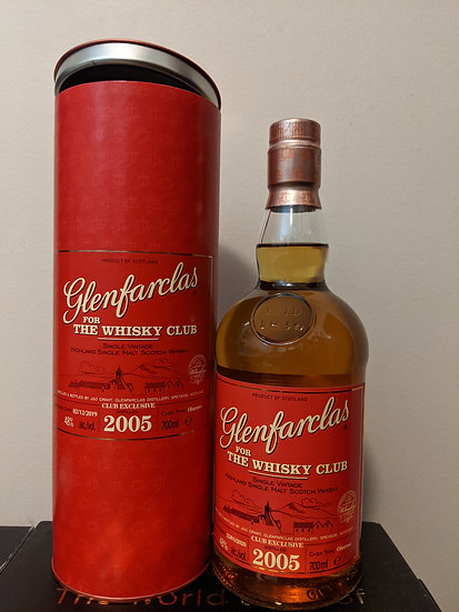 Glenfarclas 2005 Sherry 'Whisky Club' (Consignment)