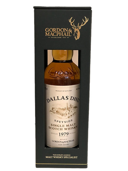 Gordon & Macphail Dallas Dhu 1979