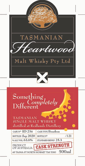 Heartwood 'Something Completely Different' 50ml sample