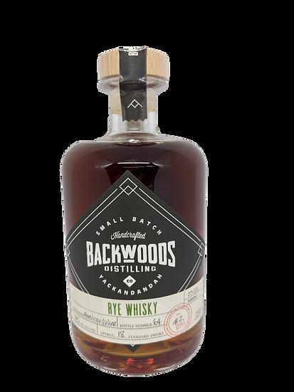 Backwoods 'Amer/Wine' Rye Batch 2 50ml Sample