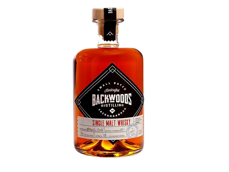 Backwoods 'Tawny' Single Malt 50ml Sample