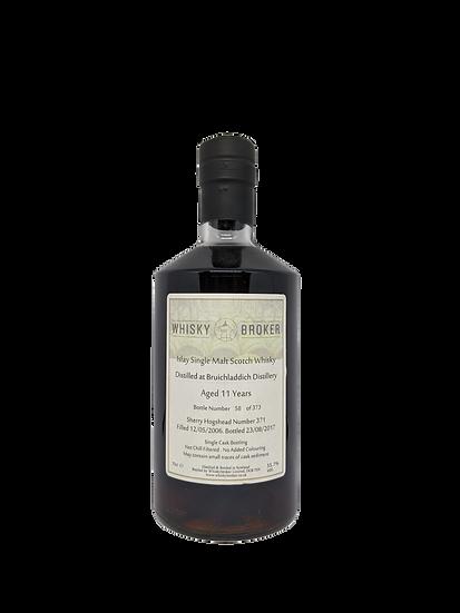 'Whisky Broker' Bruichladdich 11YO Sherry