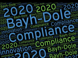 Bayh-Dole Compliance: 2020 Wrap-up