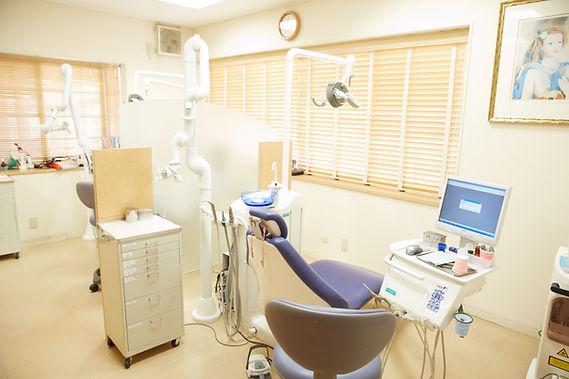 大田区仲六郷 雑色駅の歯医者 原歯科医院 診察室