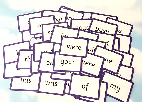 Year 1 Common Exception Words - Flash Cards