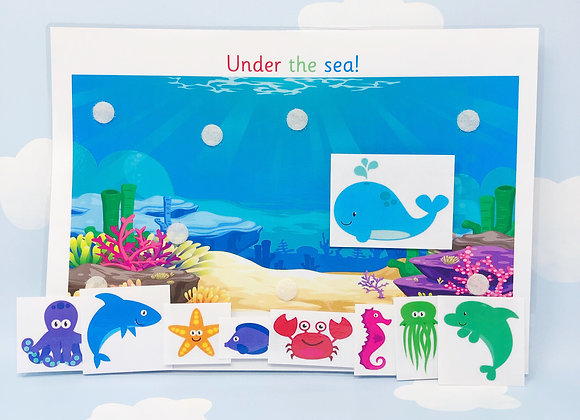 Under The Sea Learning Sheet
