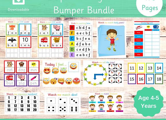 Reception Busy Book Bundle - Starting School - Learn Phonics