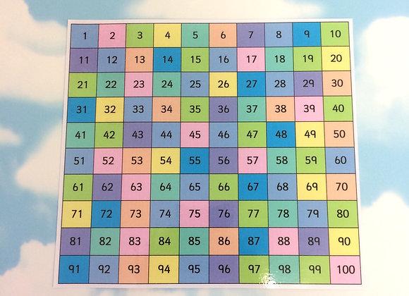 One Hundred Square