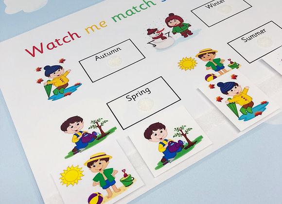 Seasons Learning Sheet
