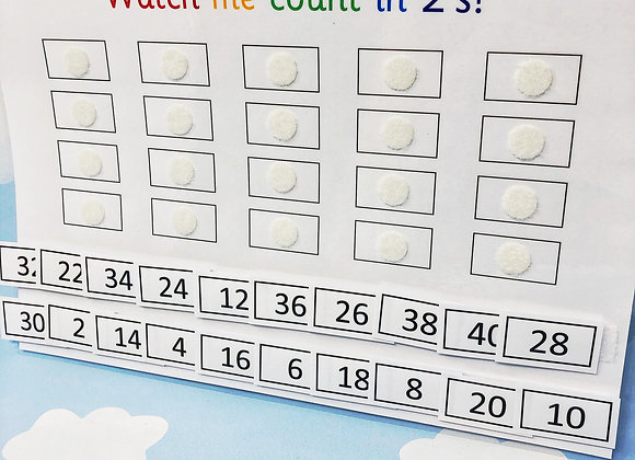 Counting in 2's - Time Tables - Numeracy - 2 Times Tables - Teaching Resource