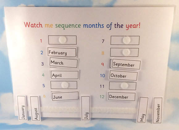 Sequence Months of the Year