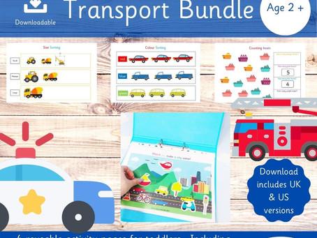 TRANSPORT BUNDLE FOR TODDLERS