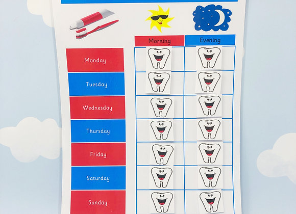 Tooth Brushing Learning Resource Nursery Reception Angle 1